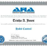 Habit Control Certificate